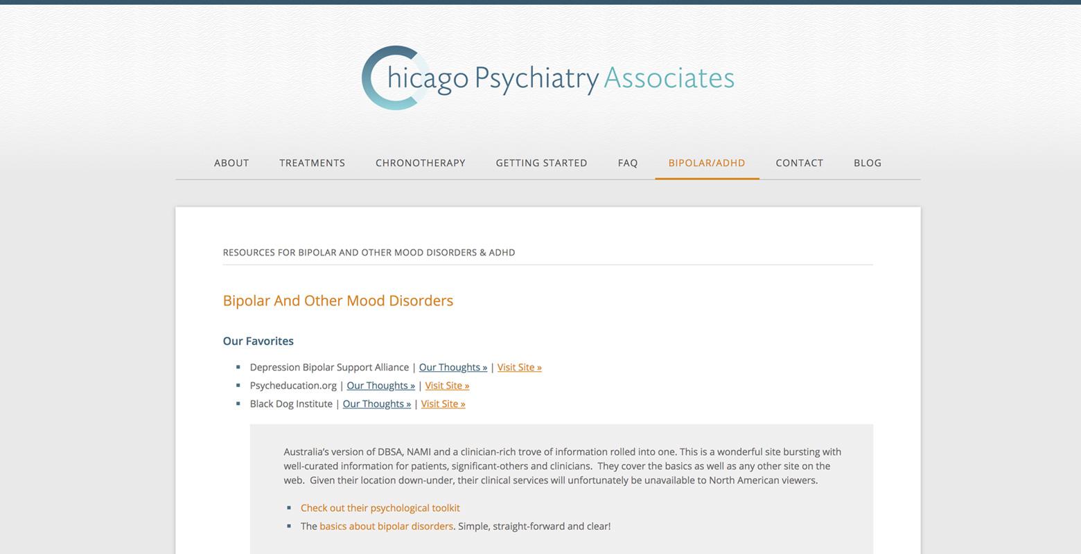 Chicago Psychiatry Associates