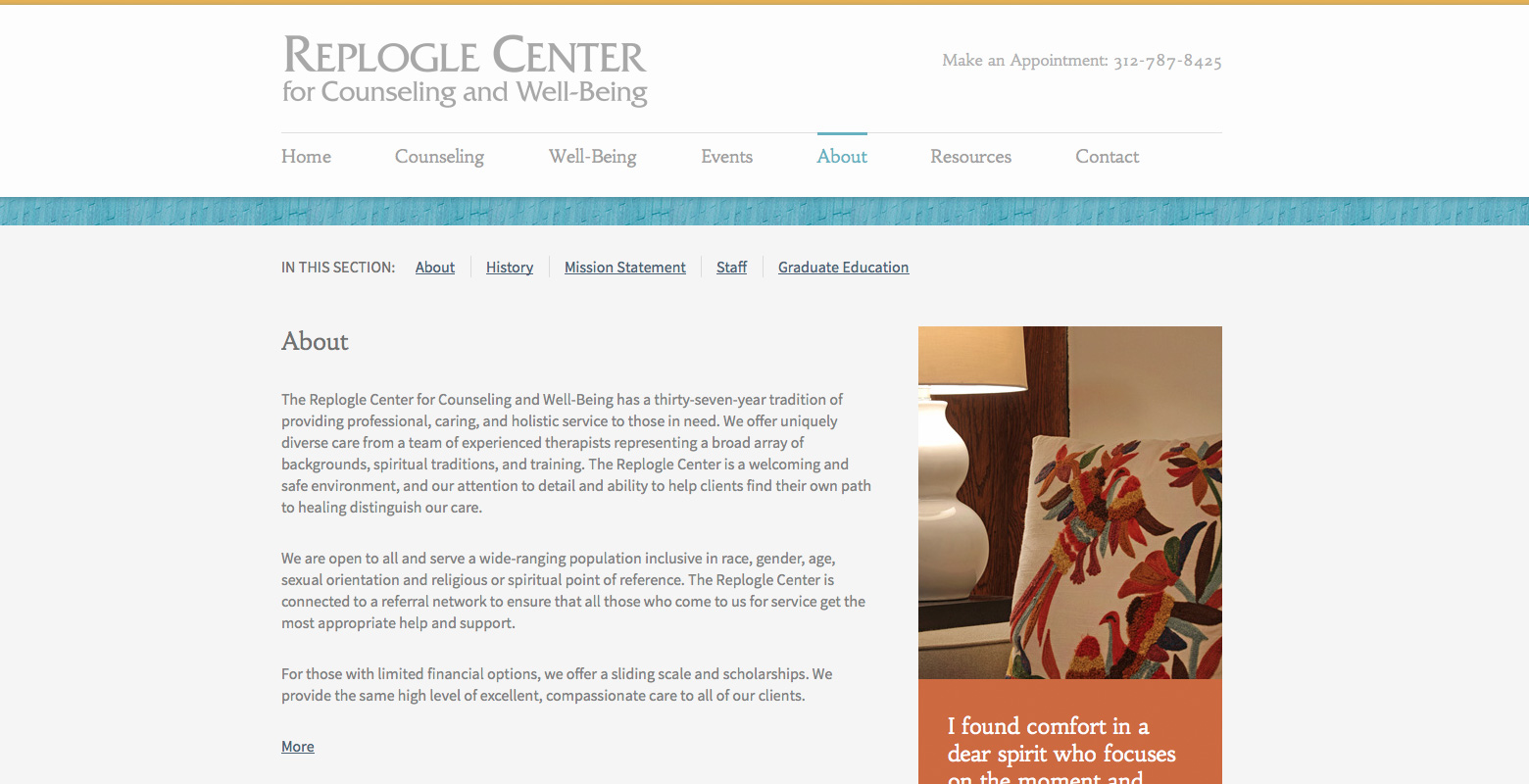 Replogle Center for Counseling and Well-Being