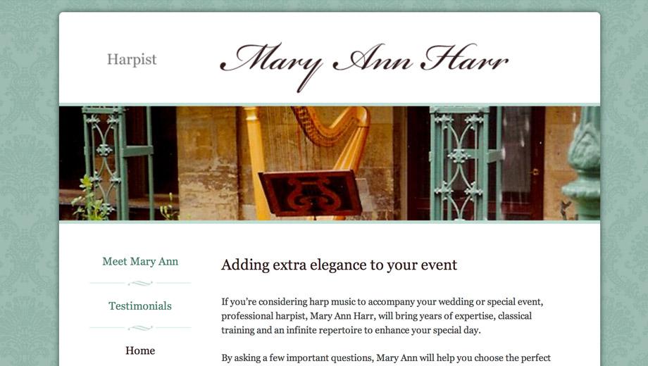 Mary Ann Harr