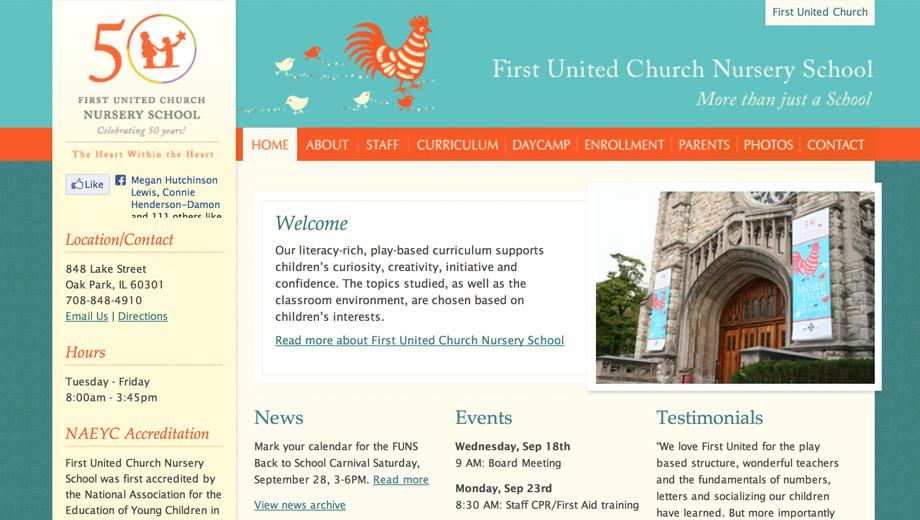 First United Church Nursery School